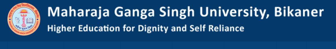 Maharaja Ganga Singh University, Bikaner