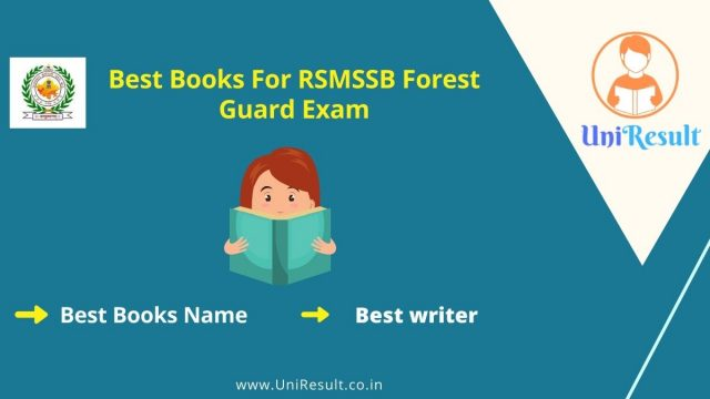 Best Books For RSMSSB Forest Guard Exam