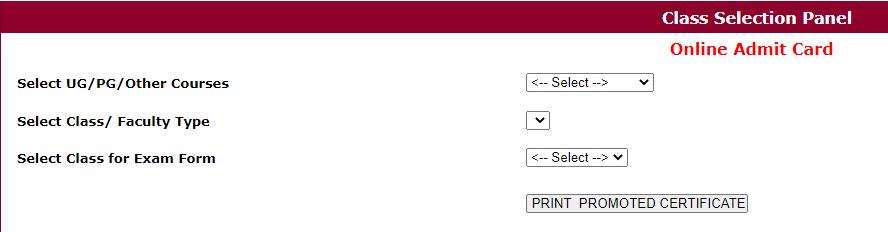 Download Shekhawati University Promote Certificate