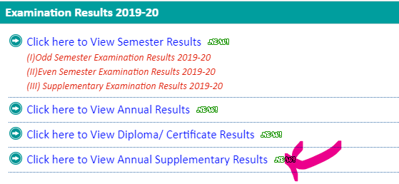 How to Download JNVU BSC Final Year Supplementary Exam Result 2019-2020